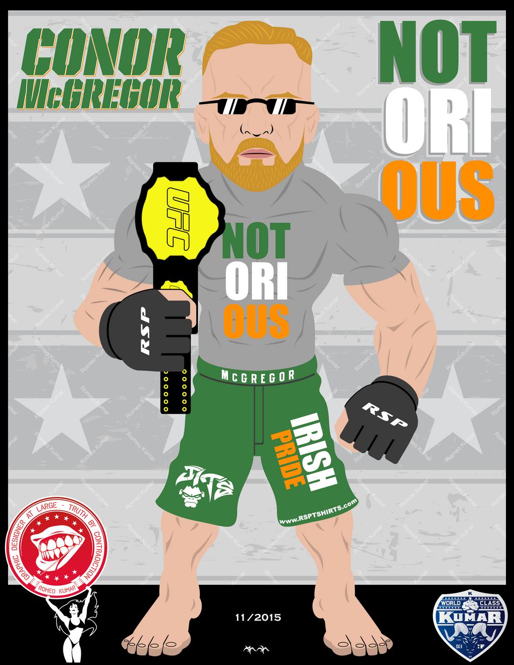 Conor.McGregor by RomeoKumar on DeviantArt