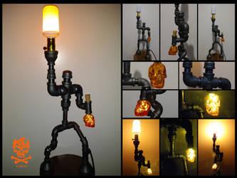 Orange.Skull.Torch.Lantern-01 by RomeoKumar