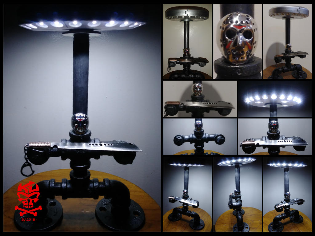 Jason.Friday.13th.Iron.Pipe.LED.Lamp-01 by RomeoKumar