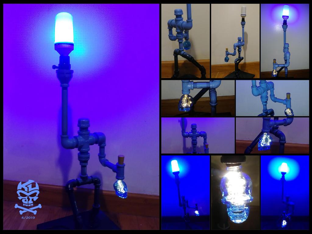 White.Walker.Inspired.GOT.Iron.Pipe.Lamp-01 by RomeoKumar