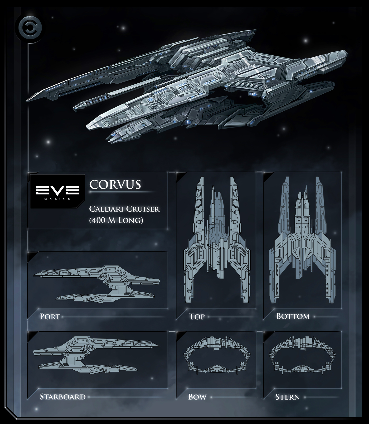 Eve online caldari navy hookbill blueprint a comprehensive eve online ships list eve online ships malvernweather Images
