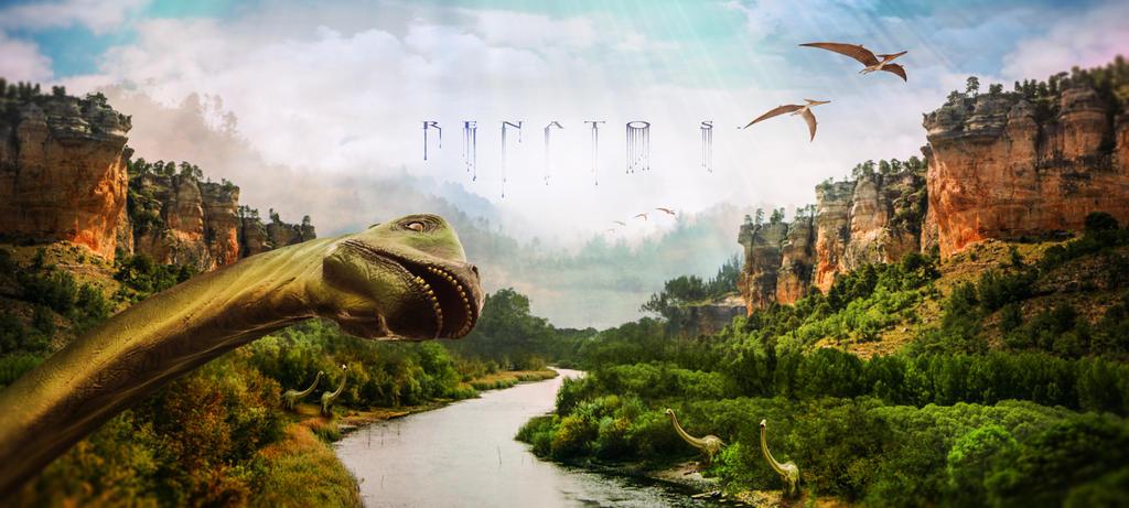 Jurassic World Photobomb by RenatoSs