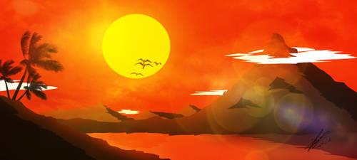 Sunset 2 by RenatoSs