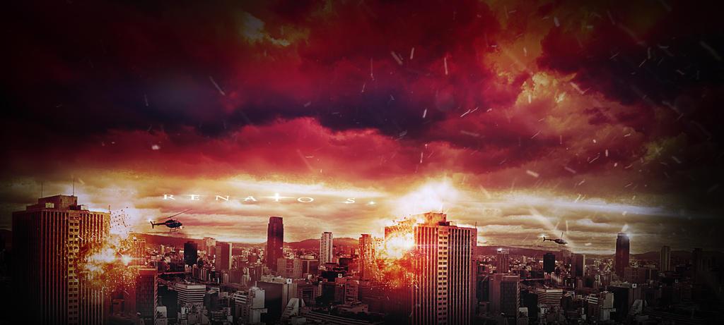 City under siege by RenatoSs