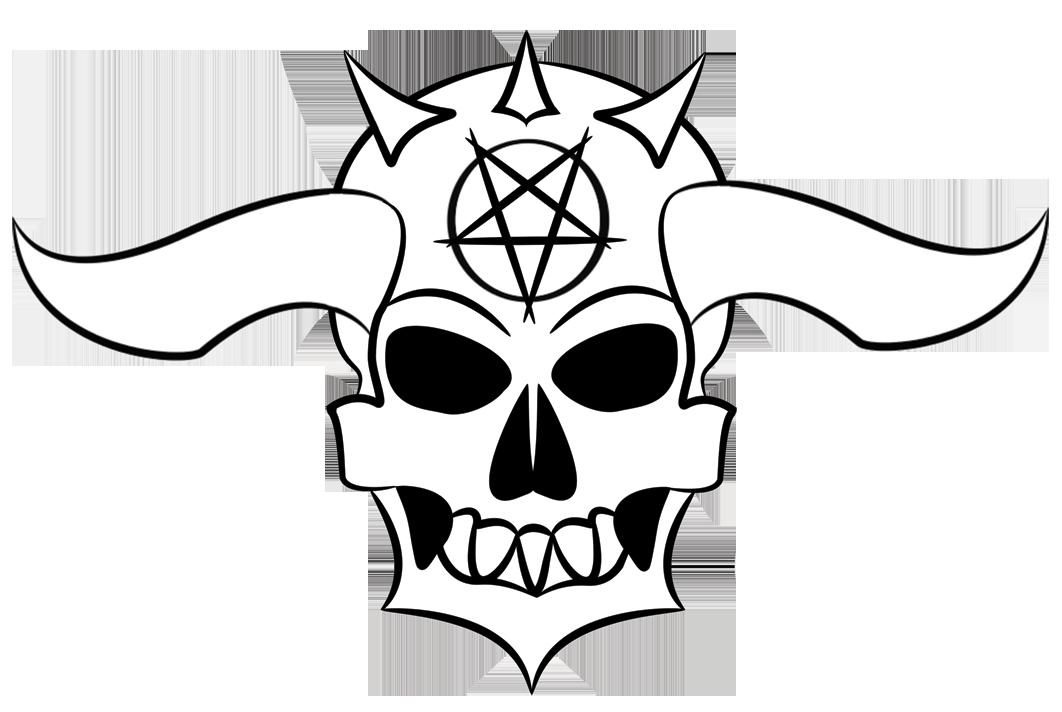 Easy Demon Skull Stencil Best Cars 2018