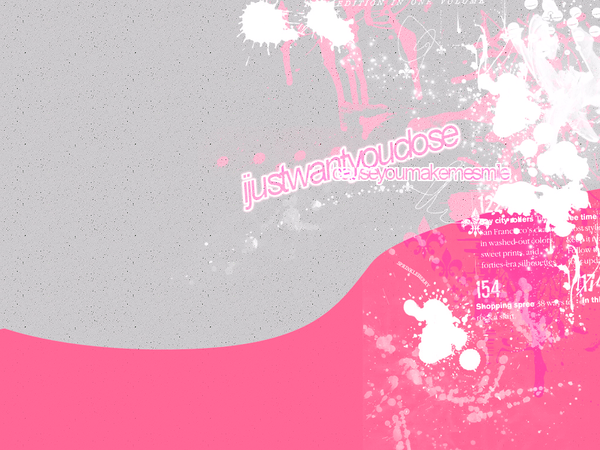 Grey and pink wallpaper by hisprinkleberry on deviantart for Pink and grey wallpaper