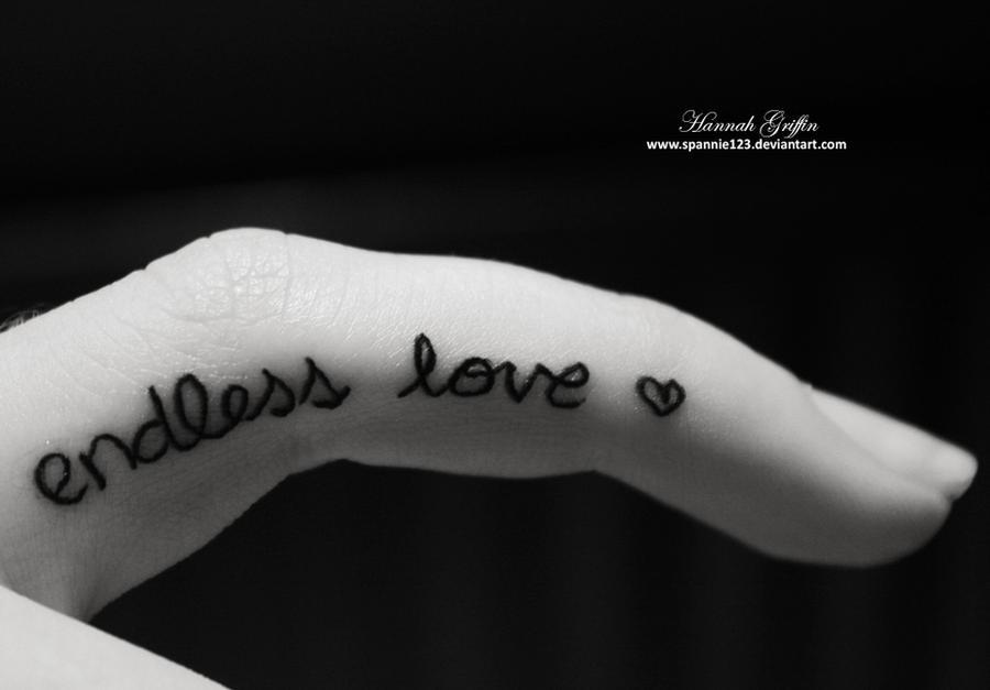 New Finger Tattoo