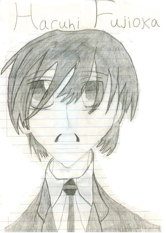 Haruhi fujioka fan art by nalachan