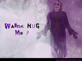 Wanna hug me by crazydarkmind