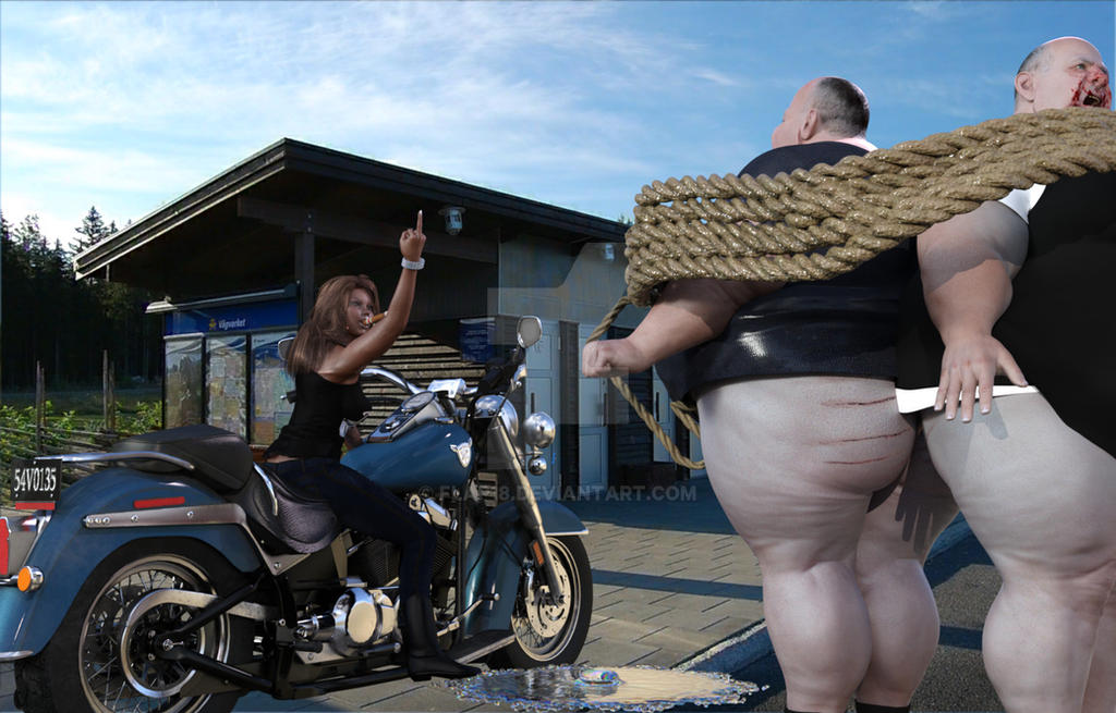 Biker Scene 63 by flap18