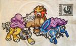 Legendaries of Crystal Cross-Stitch