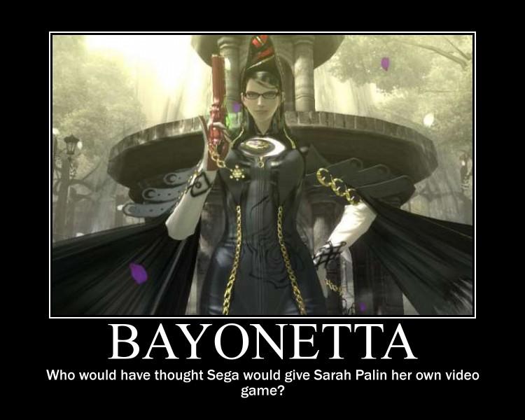 Bayonetta motivator by KonahanaWolf