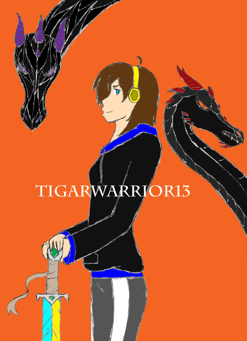 TigerWarrior13 by Swallow-of-Fire8091