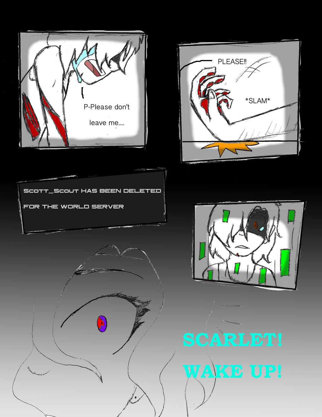 Scarlet TNT Chapter 2 Pg. 1 by Swallow-of-Fire8091