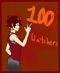 100 Watchers by Swallow-of-Fire8091