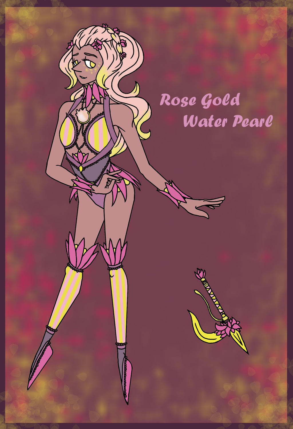 Rose Gold Water Pearl (Contest Entry!!) by Swallow-of-Fire8091