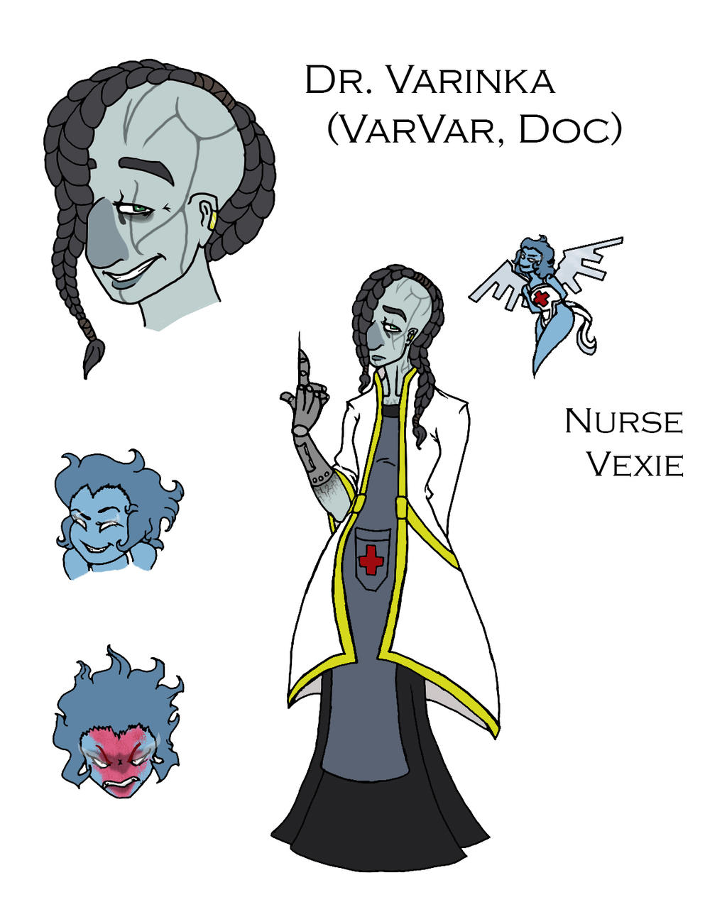 The Doctor of Rose Harbor and Her Nurse by Swallow-of-Fire8091