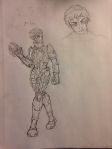 WIP of Halo Character by Swallow-of-Fire8091