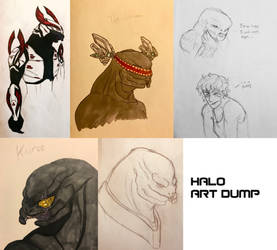 Halo Art Dump (1) by Swallow-of-Fire8091