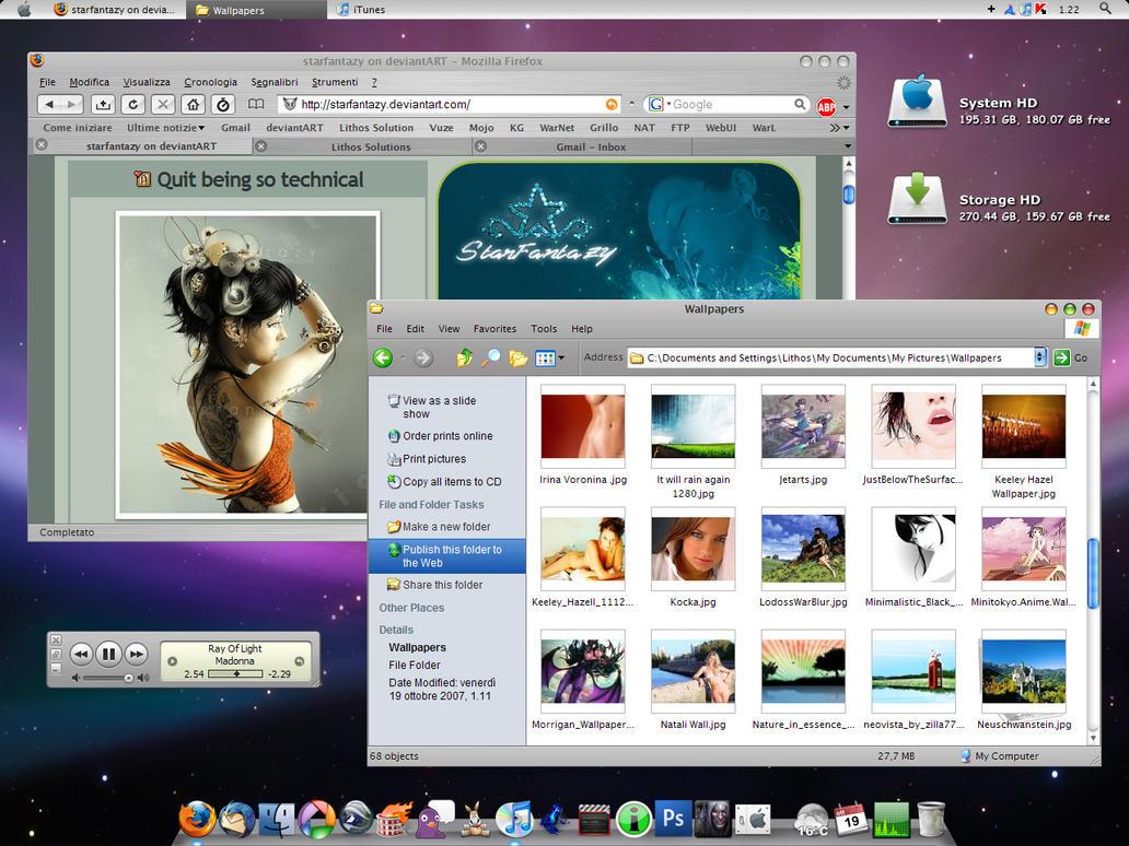 iLeopard Desktop by MarcoFiorilli