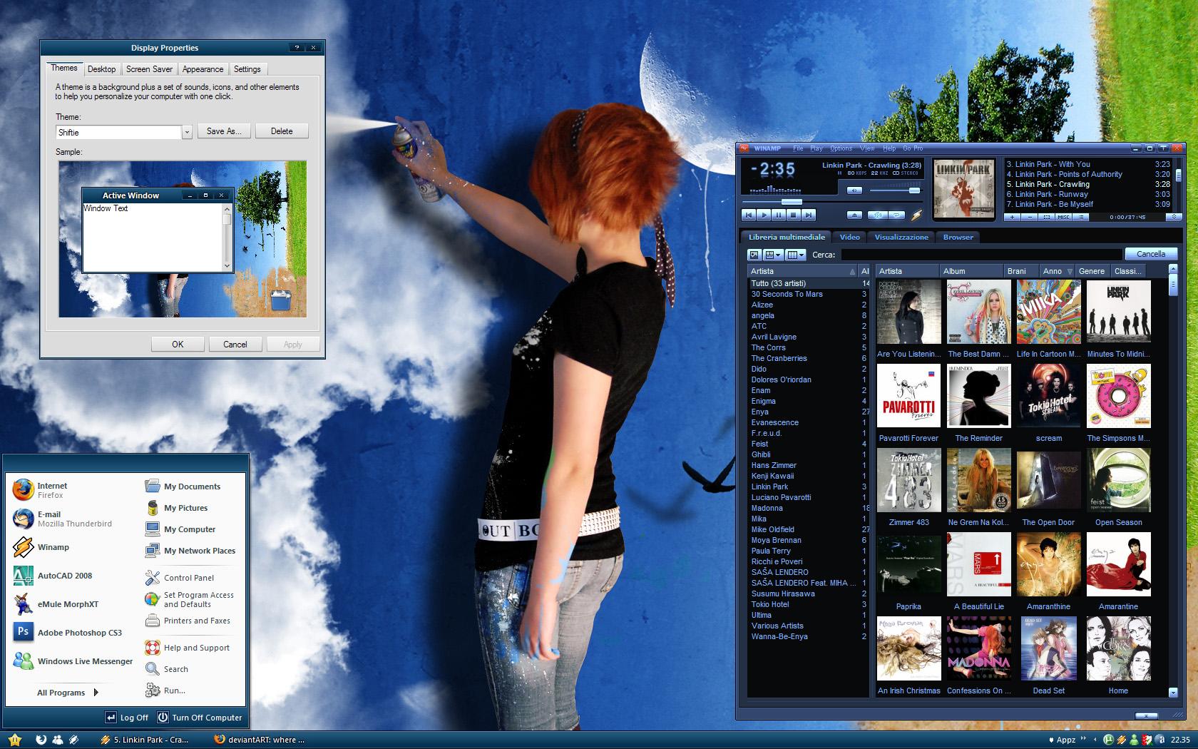 Shiftie Wide Desktop by MarcoFiorilli