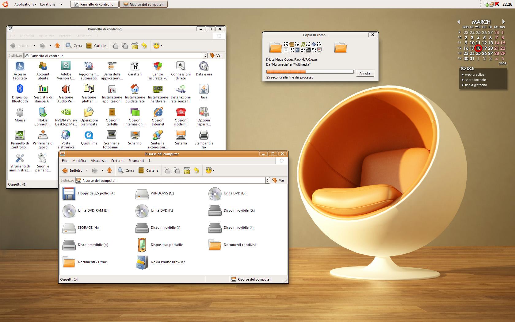 Human Desktop by MarcoFiorilli