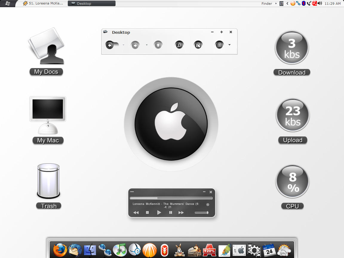 Mac Inspirat Desktop by MarcoFiorilli