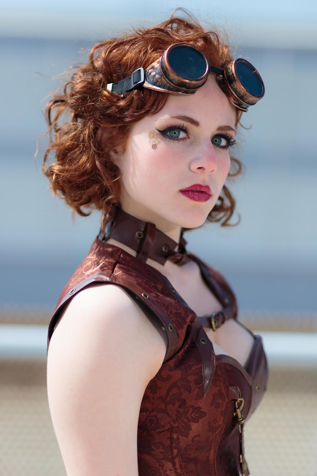 Bien-aimé Steampunk Lady by MarcoFiorilli on DeviantArt VI08