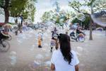 Into the bubbles