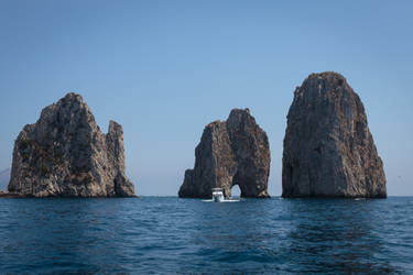Sea Stack of Capri by MarcoFiorilli