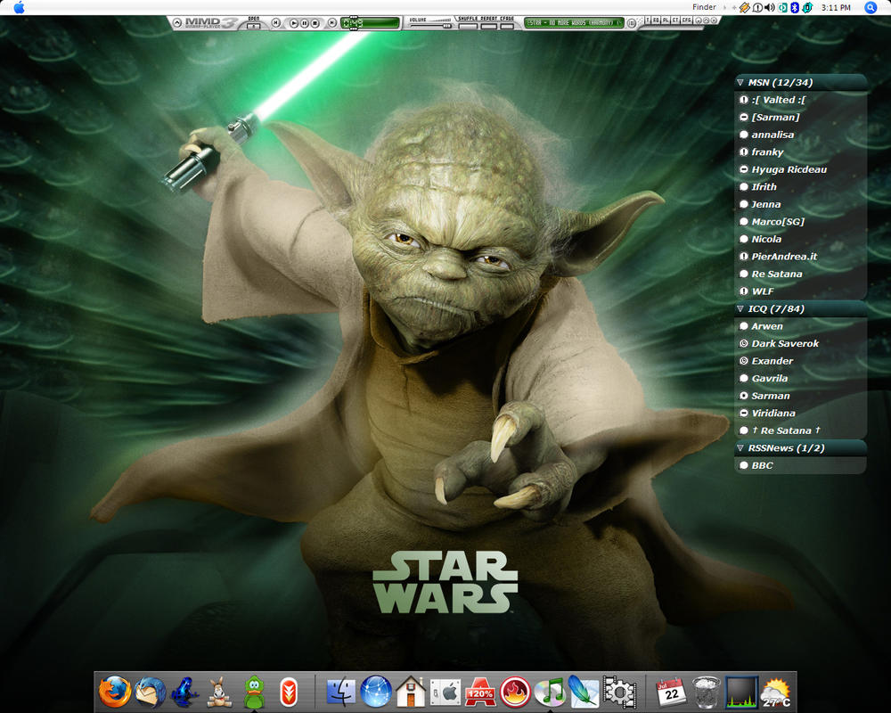 Yoda Desktop by MarcoFiorilli
