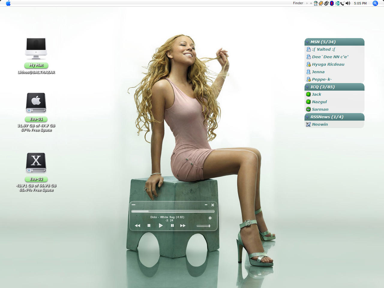 Carey Green Desktop by MarcoFiorilli