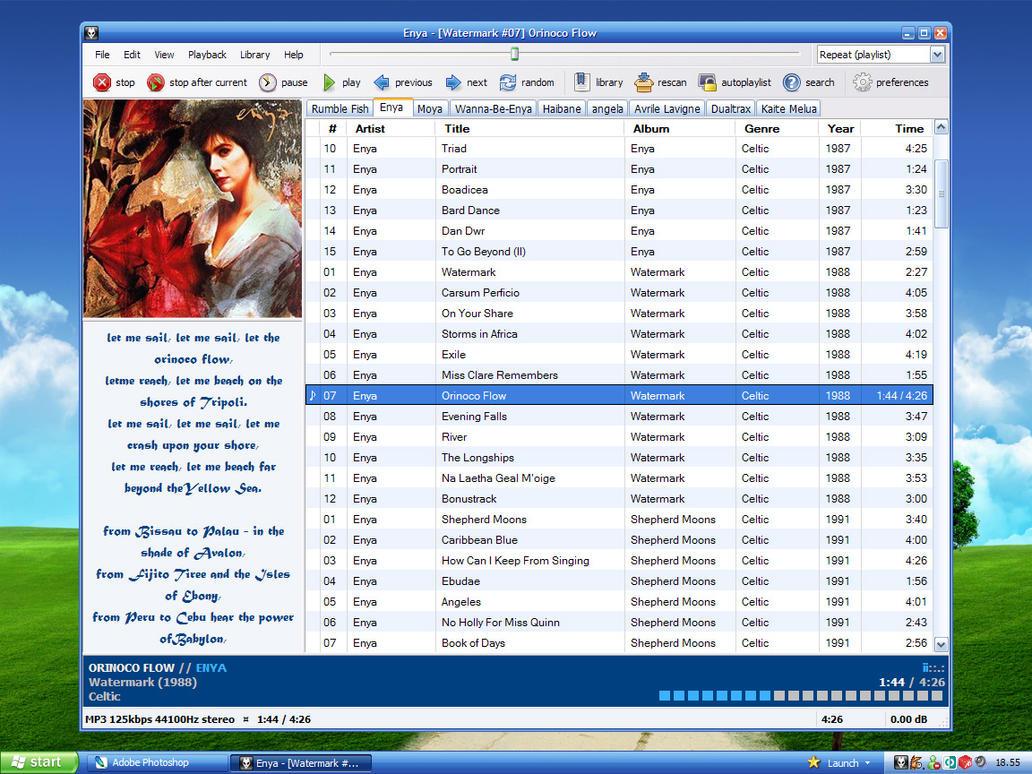 E Luna Foo - Desktop by MarcoFiorilli