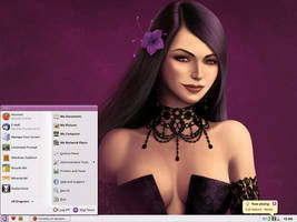 Violet Desktop by MarcoFiorilli