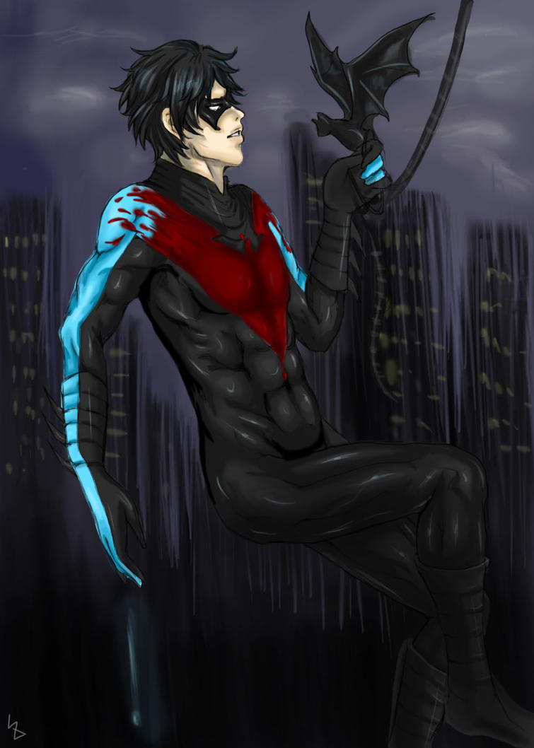 Nightwing Old To New By Kazrael