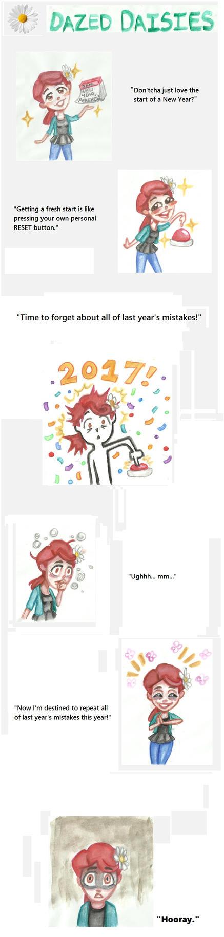 Dazed Daisies #1 - New Year, Same Mistakes by DazedDaisiesO-o