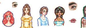 Disney Princesses II~ Welcome to the Renaissance!