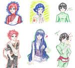 My Three Favorite Naruto Characters by DazedDaisiesO-o