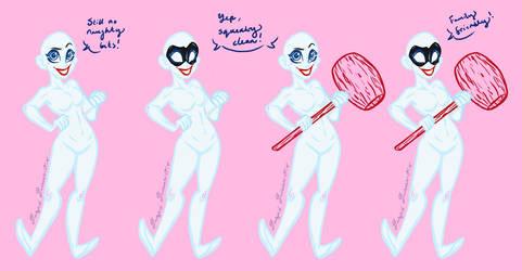 Harley Quinn Bases - Version 2