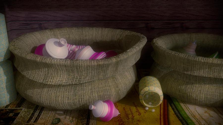 3d showreel making Inoace Design Studio - tops in bags