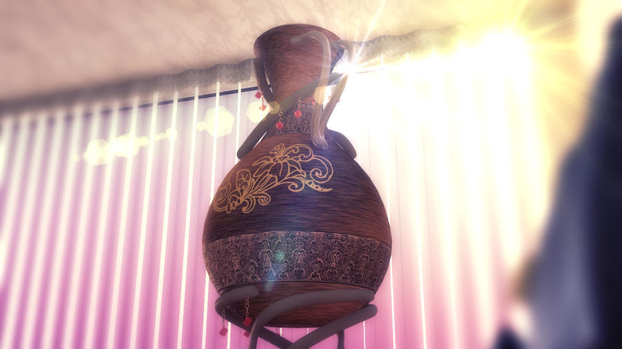 3d showreel making of the vase in arrabian style and decoration