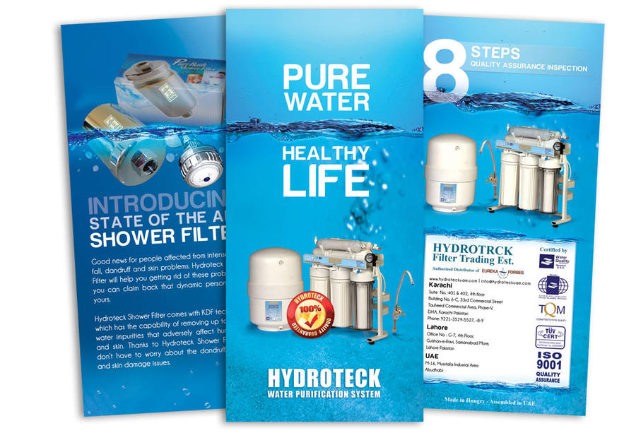 Brochure design for Hydroteck by choudryarif