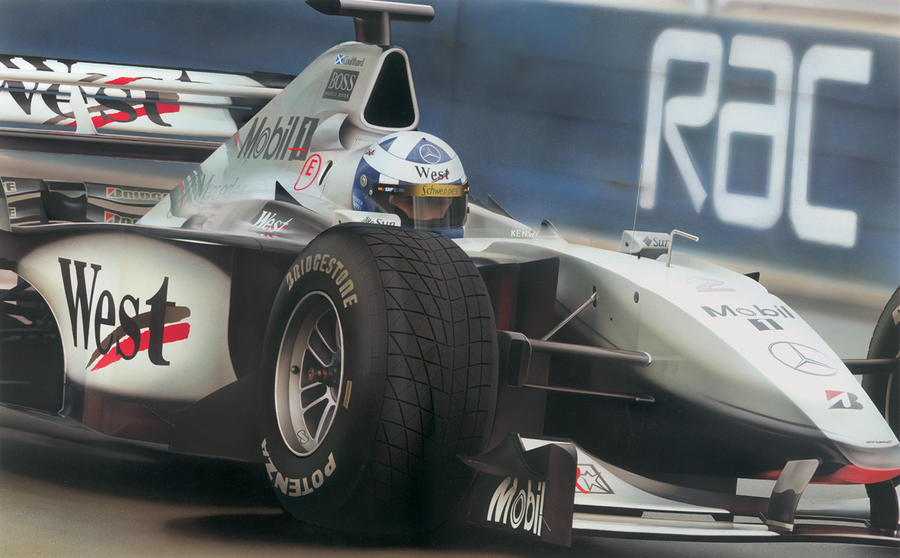 David Coulthard F1 by jamesgreen