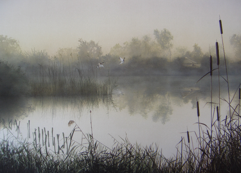 ancient Dawn, flag fen by jamesgreen