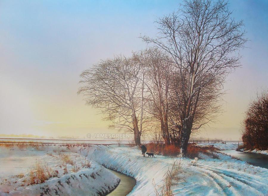 Snow Hunter by jamesgreen