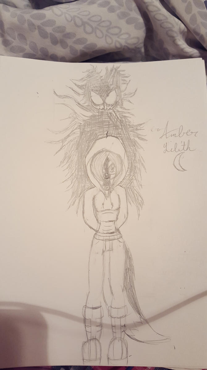 Amber's new design. by AmbertheWolf15