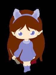 Violet (lineless) by PokeFanRuby