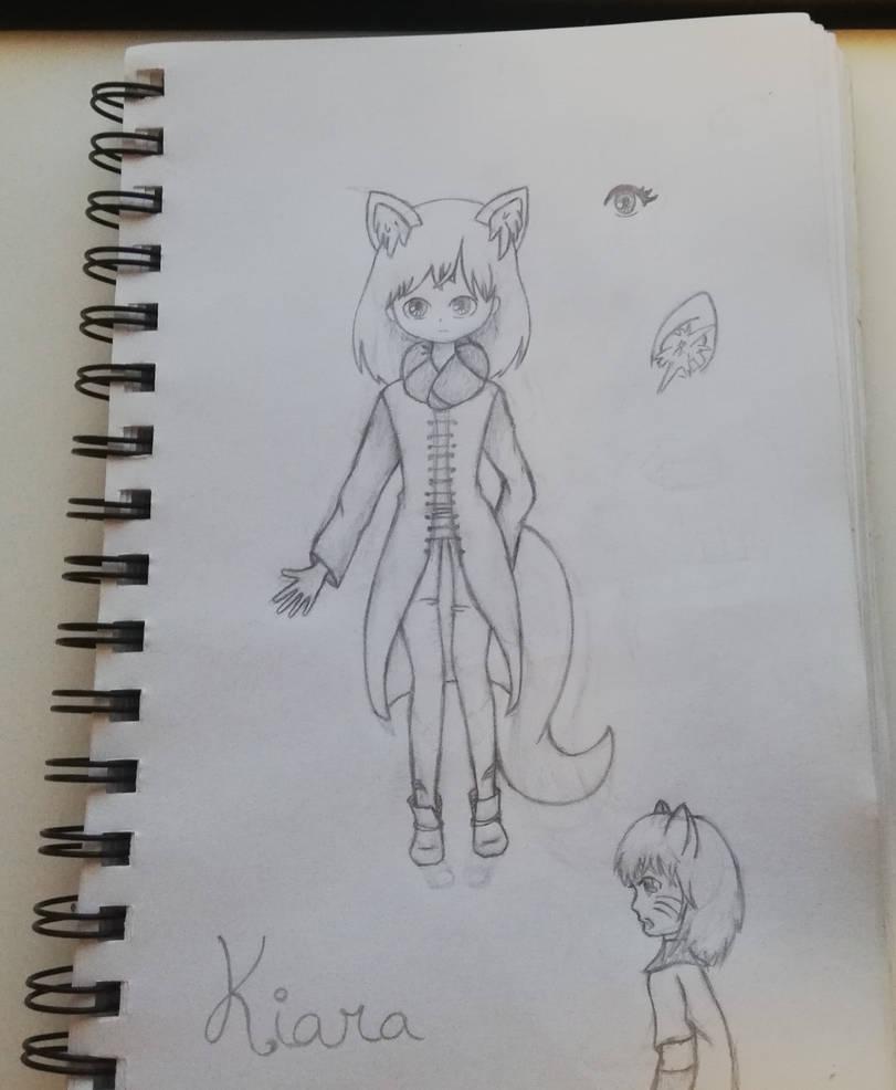 OC 3: Kiara (Sketch)  by PokeFanRuby