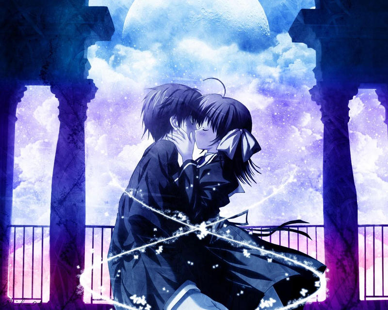 Romantic Anime Love Wallpaperxkatethehuman