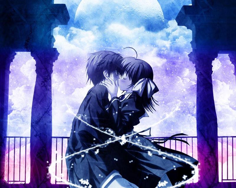 Romantic Anime Love Wallpaper 1280x1024 55395 By 2katethehuman2 On Deviantart